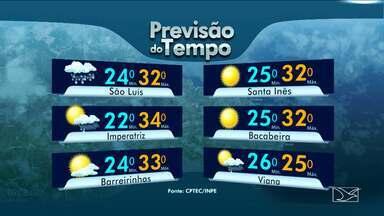 Veja a previsão do tempo para esta sexta-feira (19) no MA - Confira como deve ficar o tempo e a temperatura em São Luís e no Maranhão.