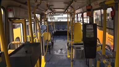 Motorista e cobrador de ônibus são baleados durante assalto em Colombo - O crime foi perto das quatro e meia da manhã. O motorista passou por cirurgias e continua internado.