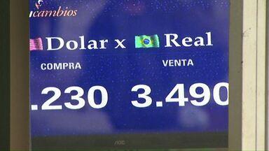 Denúncias envolvendo Michel Temer fazem dólar disparar - Muitos consumidores que foram ao Paraguai fazer compras hoje se assustaram com a cotação da moeda.