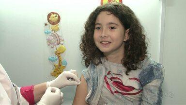 Procura pela vacina contra a gripe em crianças ainda é baixa em Paranavaí - Em Cianorte e Umuarama também tem grupos que ainda não atingiram as metas de vacinação. Campanha termina na próxima semana.