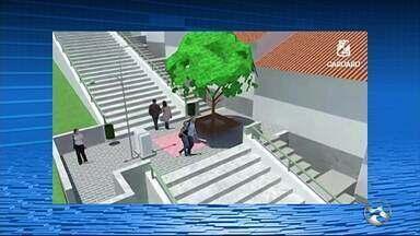 Prefeitura de Caruaru apresenta projeto de revitalização do Monte Bom Jesus - Projeto prever a reforma das escadarias, construção de uma quadra poliesportiva e de um parque infantil, trilha ecológica, entre outros.