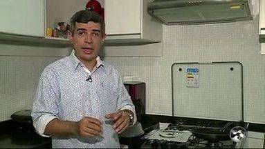 'Biodicas' ensina como tirar gordura da cozinha - Durante o preparo das refeições, algumas impurezas vão ficando acumuladas.