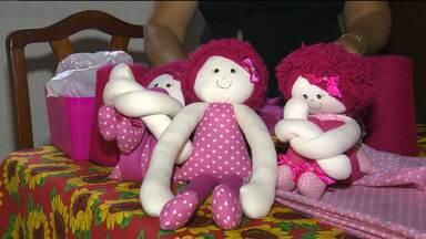Abertas inscrições para mutirão na luta contra o câncer de mama em Campina Grande - Quem for participar pode ajudar na confecção de uma boneca que está ajudando no tratamento de várias mulheres que sofrem com a doença.