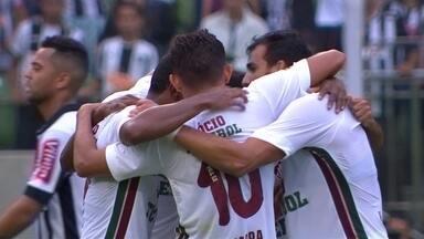 Os gols de Atlético-MG 1 x 2 Fluminense pela 2ª rodada do Campeonato Brasileiro - Henrique Dourado e Richarlison marcaram para o Tricolor, enquanto Gabriel descontou para o Galo.