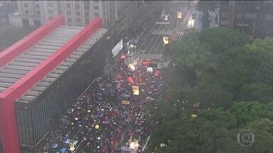 Manifestantes pedem saída de Temer e eleições diretas em protestos pelo país - Manifestações ocorreram em 19 estados e em Brasília, neste domingo (21).