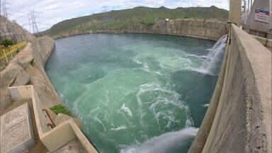 Vazão do Rio São Francisco é reduzida para preservar estoque de água - Vazão do Rio São Francisco é reduzida para preservar estoque de água.