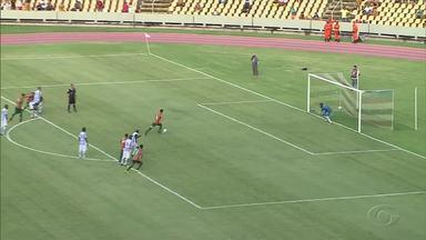 CSA vence o Sampaio Corrêa por 2 x 0 - Partida ocorreu no Estádio Castelão.