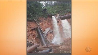 Grande Florianópolis tem abastecimento de água prejudicado - Grande Florianópolis tem abastecimento de água prejudicado