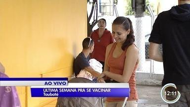 Essa é a última semana da campanha nacional de vacinação contra gripe - Quem ainda não tomou tem que ficar atento para não perder prazo.