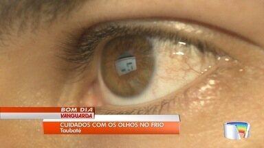 Mudança de temperatura exige cuidado com os olhos - Oftalmologista dá dicas para cuidar dos olhos.