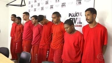 Doze suspeitos de roubo a carros em Belo Horizonte são presos - Polícias civil e militar fizeram ação conjunta. Crimes eram cometidos em várias regiões da capital mineira.
