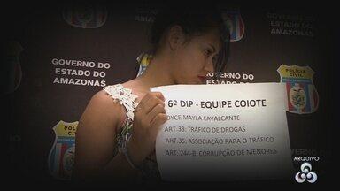 Cresce número de mulheres envolvidas com roubos em Manaus - Entre os meses de janeiro e março, o número de roubos saltou de 74 para 104 registro.
