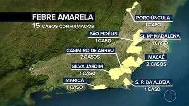 Secretaria Estadual de Saúde confirma sexta morte por febre amarela no RJ - Caso foi registrado em Santa Maria Madalena, no RJ.