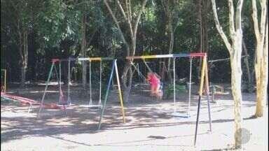 'Até Quando' verifica situação de parquinho na Cidade Universitária, em Campinas - Prefeitura restaurou o ponto de lazer e instalou novos brinquedos.
