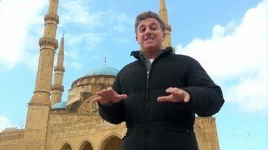 Luciano Huck viaja para o Líbano e conhece pessoas com histórias surpreendentes - O apresentador leva o 'Caldeirão' para o Oriente Médio