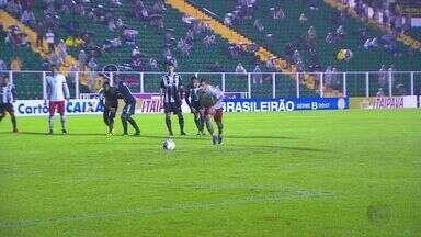 Com direito a gol do meio de campo, Boa Esporte bate o Figueirense em SC - Com direito a gol do meio de campo, Boa Esporte bate o Figueirense em SC