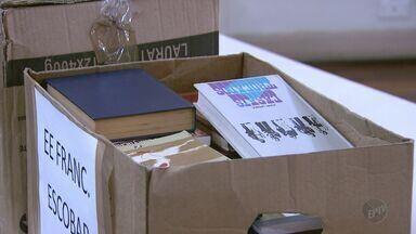 Livros arrecadados durante o Flipoços são doados em Poços de Caldas (MG) - Livros arrecadados durante o Flipoços são doados em Poços de Caldas (MG)