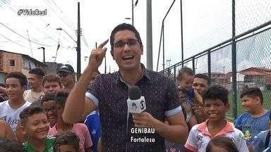 Vida Real visita o Bairro Genibaú, em Fortaleza - Quadro vai ao ar no CETV às segundas, quartas e sextas-feiras.