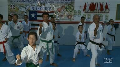 Grupo de Karatê maranhense busca patrocínio para disputar campeonato - Grupo de Karatê maranhense busca patrocínio para disputar campeonato brasileiro que acontece em Brasília em Junho.