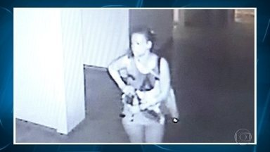 Câmeras flagram furto dentreo de hospital em Belo Horizonte; veja vídeo - Suspeita do crime foi apresentada pela Polícia Civil; ela já estava presa quando foi identificada.