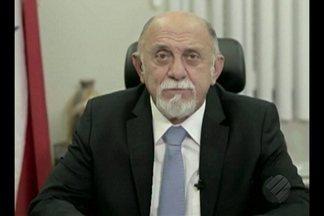 Governador Simão Jatene se pronuncia nas redes sociais sobre chacina em Pau D'Arco - O pronunciamento foi publicado uma semana depois das dez mortes em Pau D'Arco.