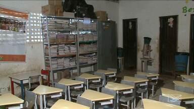Escola municipal funciona em salão de união de moradores na zona rural de São Luís - Escola municipal funciona em salão de união de moradores na zona rural de São Luís