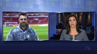 Internacional enfrenta o Palmeiras pela Copa do Brasil na quarta (31) - A partida será transmitida pela RBSTV.