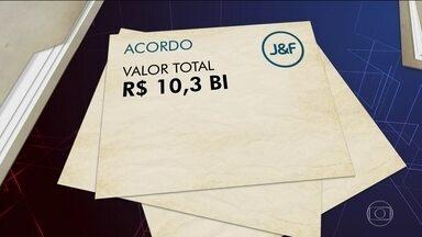 Depois de três meses de negociação J&F fecha acordo de leniência com MP - J&F vai ter que pagar R$ 10,3 bilhões parcelados em 25 anos. Valor supera acordos de Odebrecht, Braskem, Andrade e Camargo Corrêa.