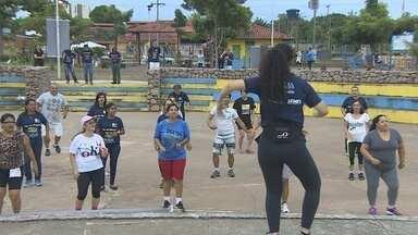 Porto Velho compete com cidade do Peru no Dia do Desafio - Ganha quem praticar mais exercícios físicos.