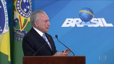Temer se reúne com Alckmin e com advogado em São Paulo - Temer chegou a São Paulo pouco antes do meio-dia, horas depois de saber da prisão do seu aliado, o ex-deputado Rodrigo Loures.