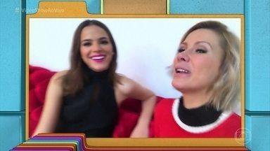 Bruna Marquezine abre o jogo para Mônica Salgado - Atriz fala sobre suas intimidades para a jornalista e conta até qual é o tipo de lingerie que gosta de usar