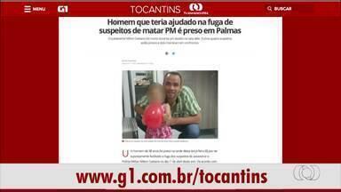 Confira os destaques do G1 Tocantins desta quarta-feira (7) - Confira os destaques do G1 Tocantins desta quarta-feira (7)