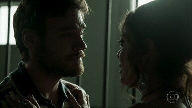 Bibi fala com Rubinho - Caio questiona Dantas sobre estado emocional da ex