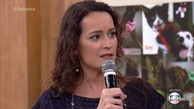Rita Ericson dá dicas para abordar os cachorros - Fátima mostra fotos de seus cachorros. Isabella Taviani apresenta os gatos e o cão Elvis Presley