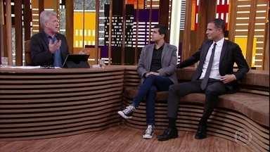 Conversa com Bial - Programa de sexta-feira, 09/06/2017, na íntegra - Pedro Bial recebe o comediante português Ricardo Araújo Pereira e Marcius Melhem