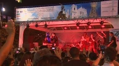 Fiéis celebram Santo Antônio com orações e músicas - Santo é celebrado no município de Borba.
