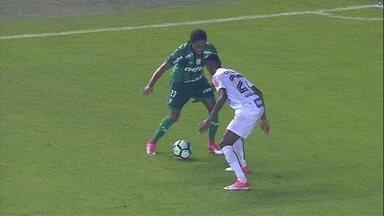 Melhores momentos: Santos 1 x 0 Palmeiras pela 7ª rodada do Brasileirão - Melhores momentos: Santos 1 x 0 Palmeiras pela 7ª rodada do Brasileirão