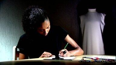 Jogadora de vôlei do Barueri faz sucesso como estilista - Jogadora de vôlei do Barueri faz sucesso como estilista