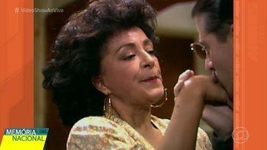 Memória Nacional homenageia Geórgia Gomide - Miguel Falabella relembra carreira dessa grande atriz
