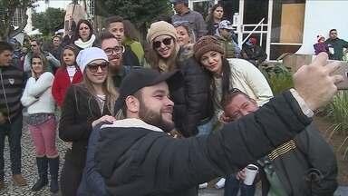 Festa do Pinhão movimenta a cidade de Lages durante o feriadão - Festa do Pinhão movimenta a cidade de Lages durante o feriadão