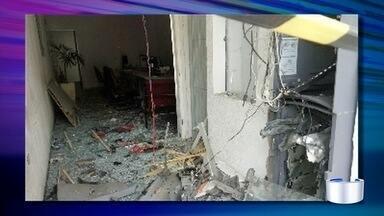 Polícia procura criminosos que explodiram caixa eletrônico em Igaratá - Crime foi na madrugada desta quinta (15).