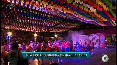 Concurso de Quadrilhas Juninas acontece em Petrolina - O evento é uma parceria da prefeitura com a TV Grande Rio