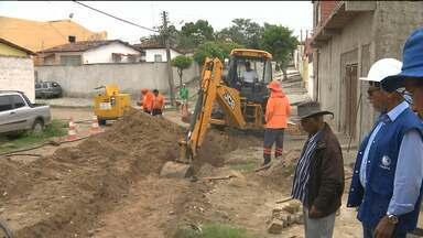 Vazamento que prejudicou moradores da zona 1 foi consertado - Segundo a Cagepa, para os bairros prejudicados vai ter água até o meio dia desta sexta-feira.