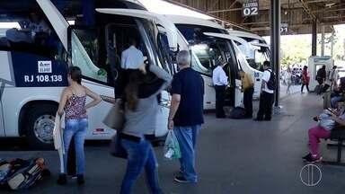 Rodoviárias de Campos, RJ, devem receber cerca de 15 mil usuários no feriado prolongado - Ao todo serão 260 partidas e 30 ônibus extras disponibilizados aos usuários.