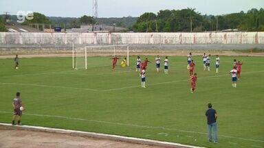 Veja o gol da vitória do Princesa sobre o Atlético-AC pela Série D - Tubarão vence por 1 a 0. Time ainda perdeu um pênalti. Partida ocorreu neste domingo, em Manacapuru.