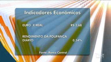 Indicadores econômicos no Bom Dia Mirante desta segunda-feira (19) - Indicadores econômicos no Bom Dia Mirante desta segunda-feira (19).