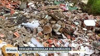 Moradores de Guarulhos reclamam de descarte irregular de lixo - Prefeitura mapeou pontos espalhados pela cidade.