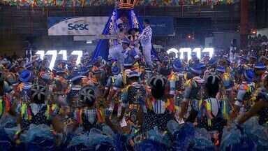 Quatro quadrilhas se apresentaram na terceira noite do Forró e Folia no Ginásio do Sesc - Quadrilhas mostraram muita animação no festival.