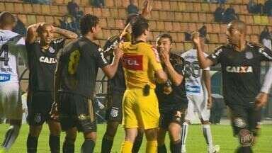Ponte Preta fica no empate com o Santos pelo Brasileirão - Equipes pararam em boas atuações dos goleiros no empate por 0x0.