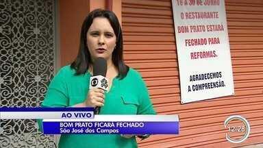 Bom Prato em São José vai ficar fechado por 10 dias - Local vai passar por reformas.